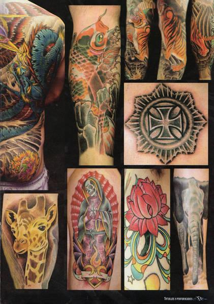 elementos que hacen de un tattoo una pieza de arte.